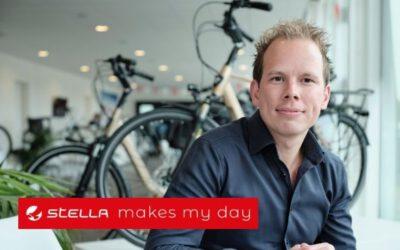 STELLA Fietsen, PR voor Daan van Renselaar, CEO van STELLA Fietsen en Wilco van de Kamp, founder en medeoprichter van STELLA Fietsen